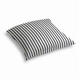 Navy & White Stripe Outdoor Floor Pillow