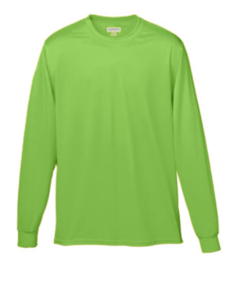 788-WICKING LONG SLEEVE T-SHIRT | Augusta Sportswear
