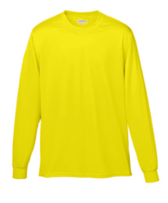 788-WICKING LONG SLEEVE T-SHIRT | Augusta Sportswear