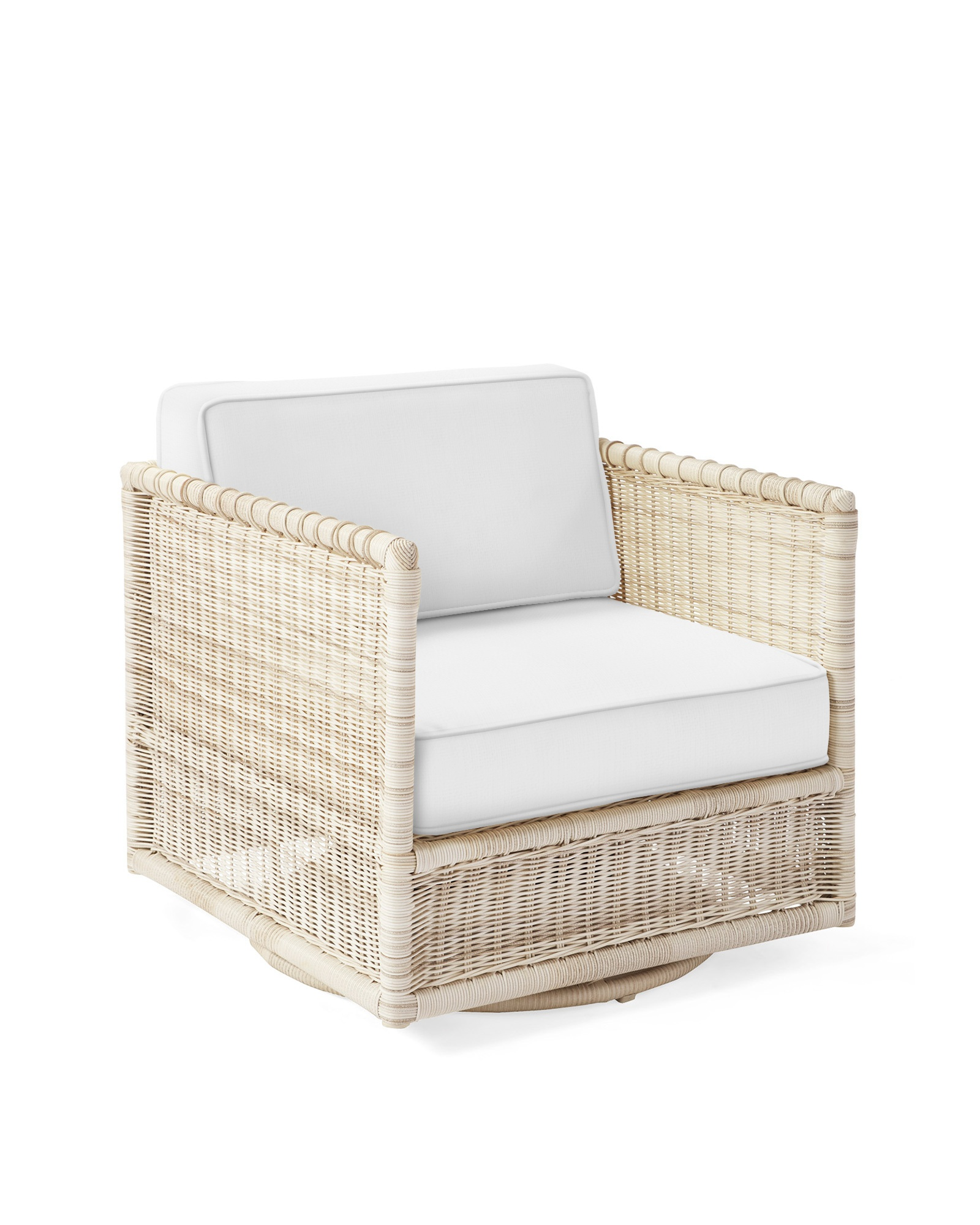 Pacifica Swivel Chair - Driftwood