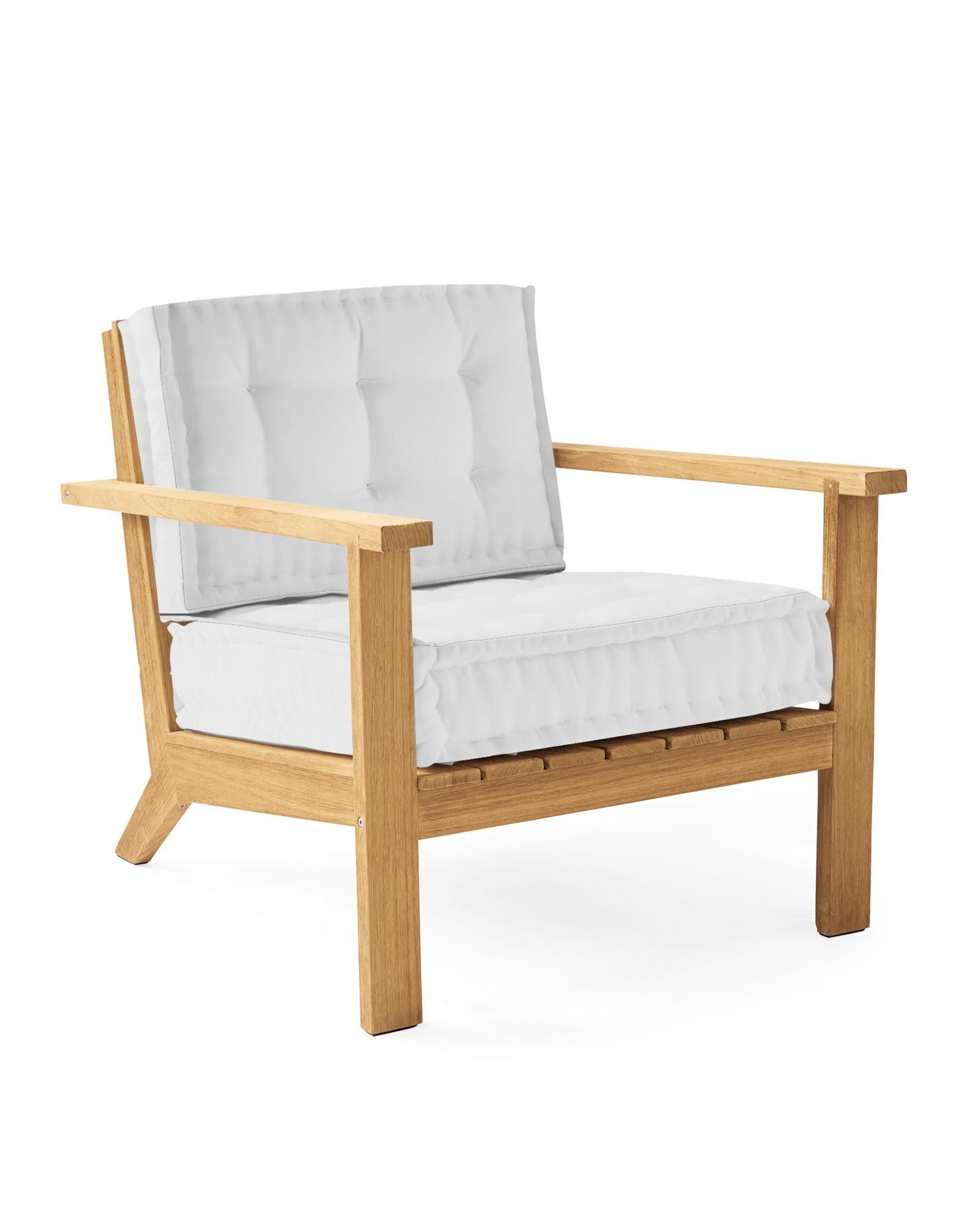 Cliffside Teak Lounge Chair