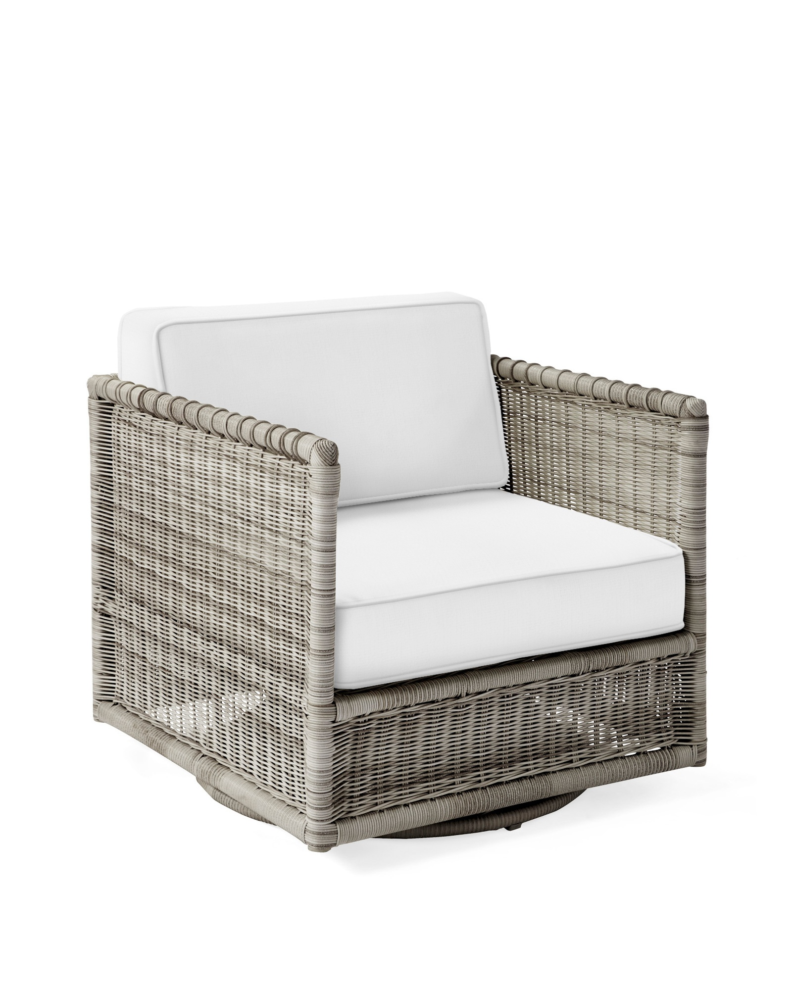 Pacifica Swivel Chair - Harbor Grey