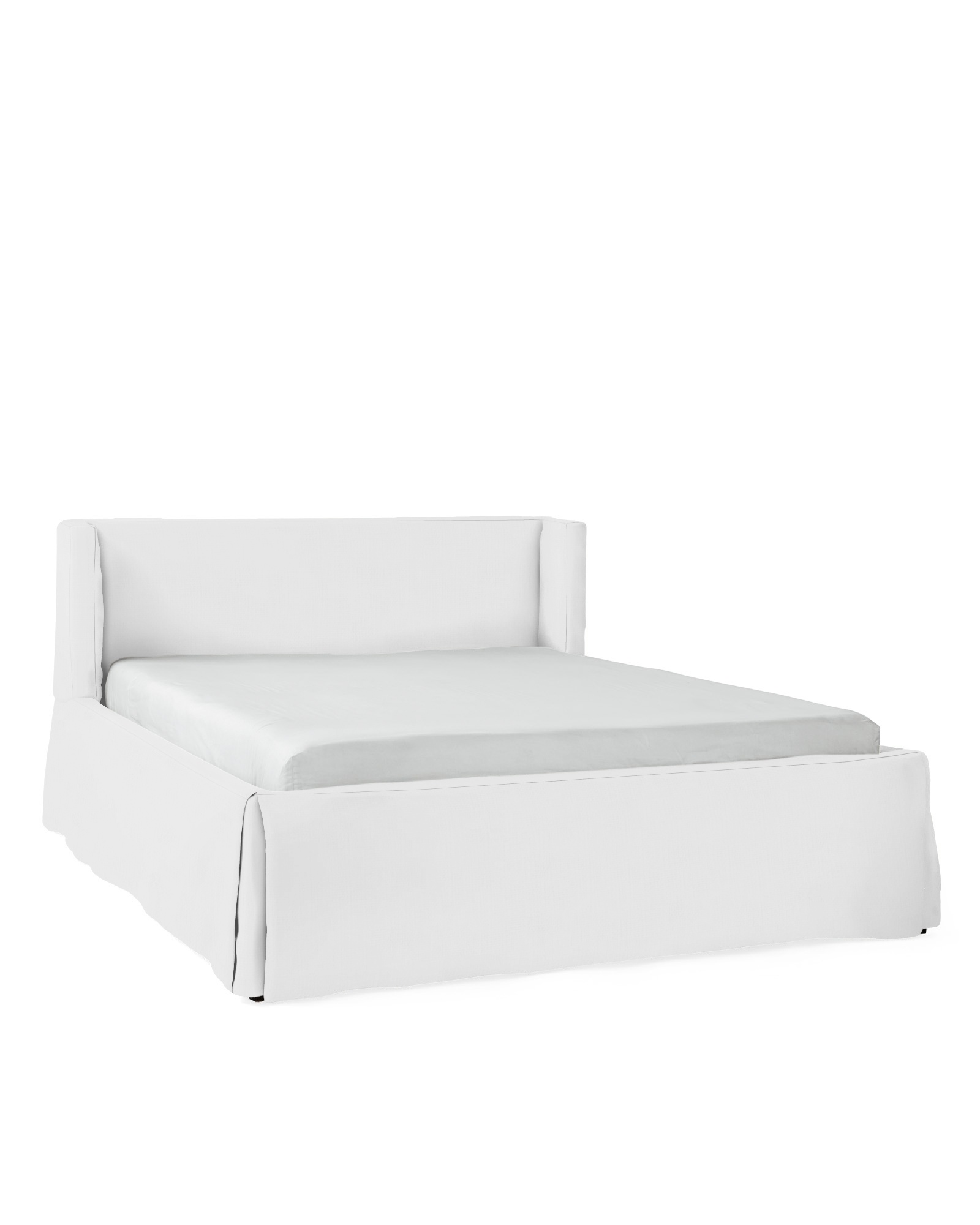 Broderick Slipcovered Bed