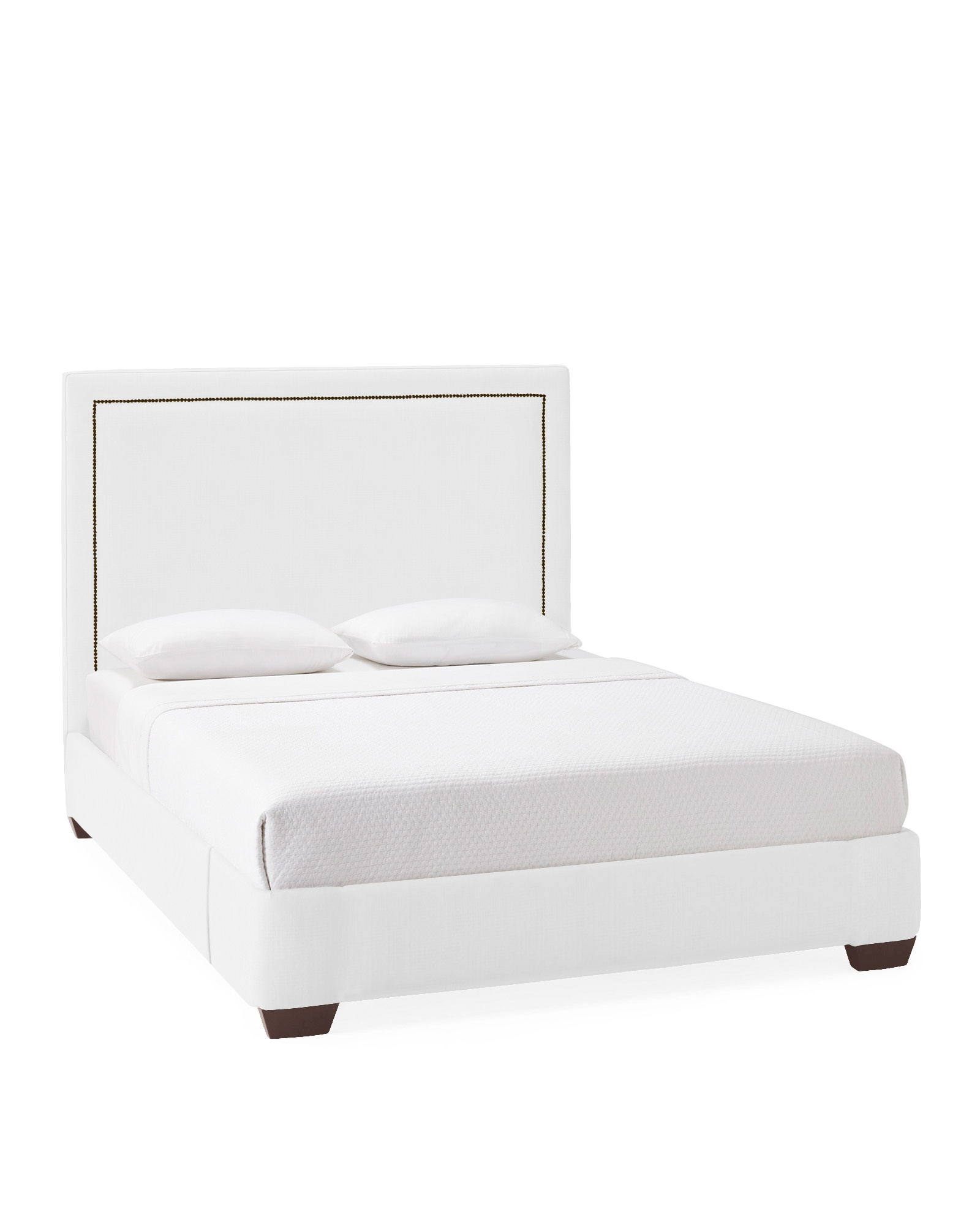 Tall Octavia Bed with Nailheads