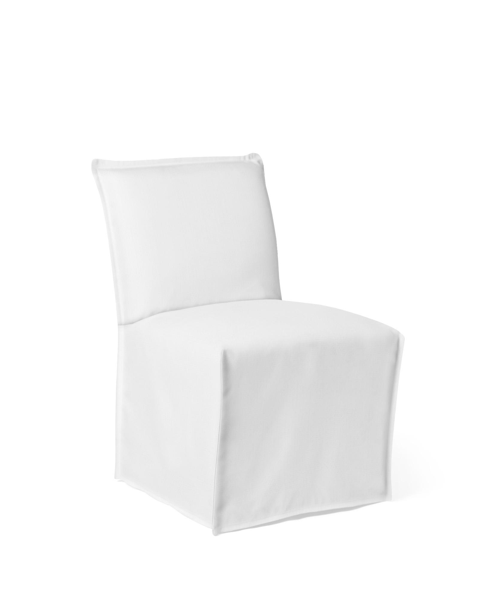 Sundial Outdoor Side Chair - Slipcovered