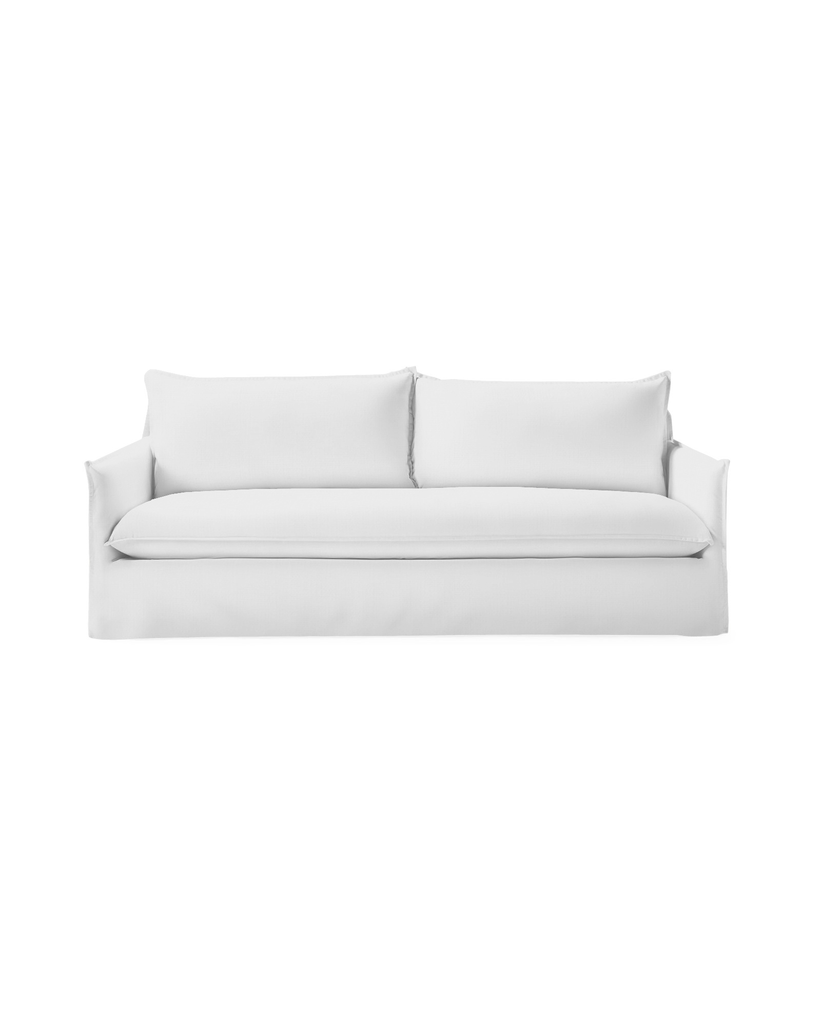 Sundial Outdoor Sofa with Bench Seat - Slipcovered