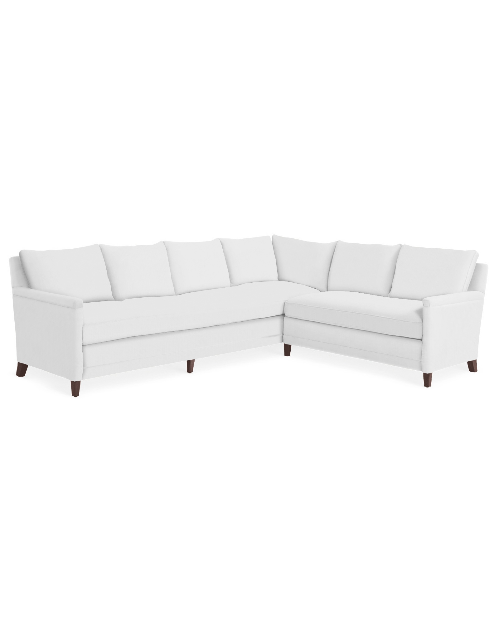 Spruce Street L-Sectional with Bench Seat – Right-Facing
