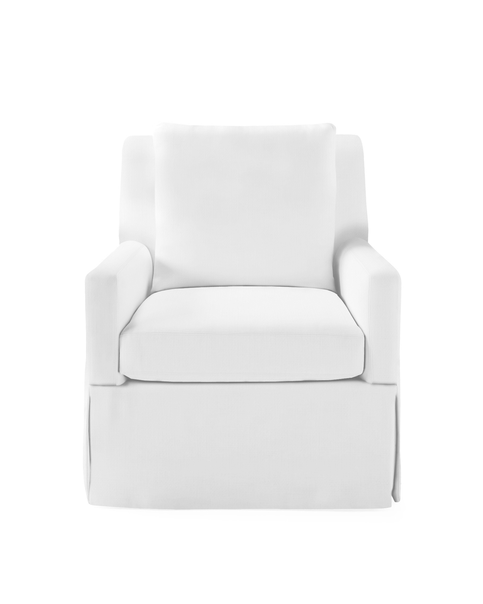 Jamieson Swivel Chair - Slipcovered