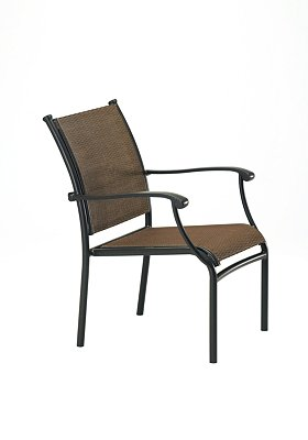 patio dining chair relaxed sling
