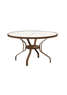 patio glass round dining table