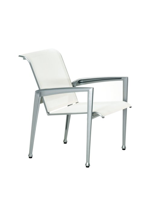 Tropitone Patio Chairs: Veer Sling Dining Chair
