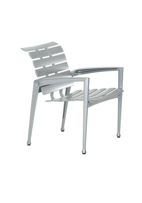 cast outdoor dining chair