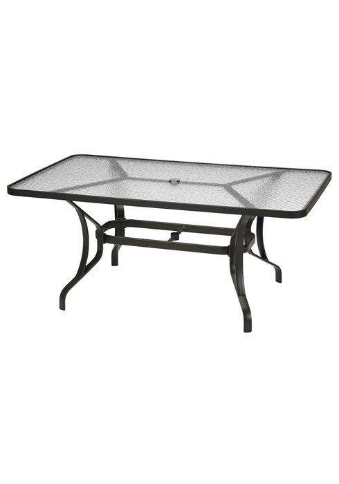 patio rectangular round dining table