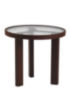 Captivating Patio Glass Round Tea Table