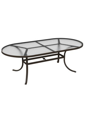 acrylic outdoor dining table