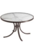 Attractive Acrylic Round Patio Dining Table