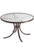 Acrylic Round Patio Dining Table