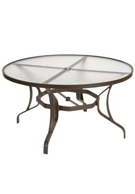 patio glass dining umbrella table