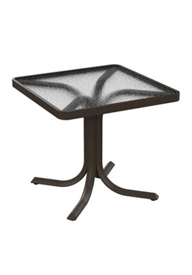 acrylic square outdoor table