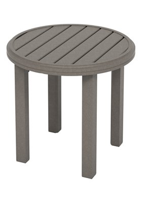 Jack Wills Patio Furniture.Amici 24 Round Kd End Table Jack Wills Outdoor Living
