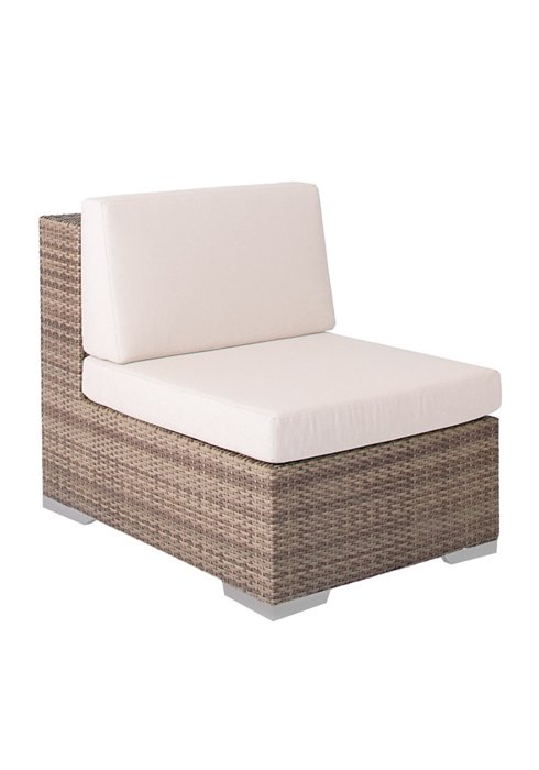 Arzo Woven Armless Patio Chair