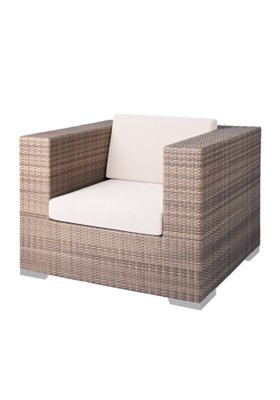 Arzo Woven Patio Lounge Chair