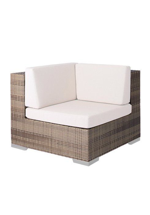 Arzo Woven Square Module Chair for Outdoors