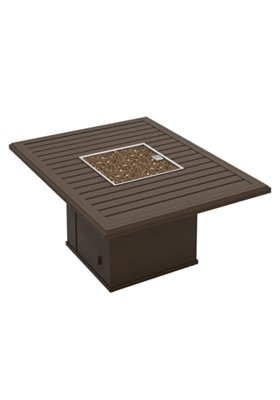 outdoor rectangular fire pit
