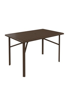 rectangular patio bar umbrella table