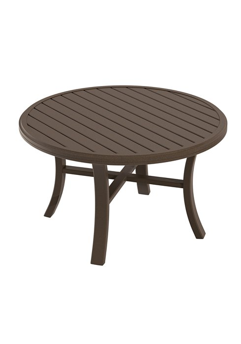 patio round chat table