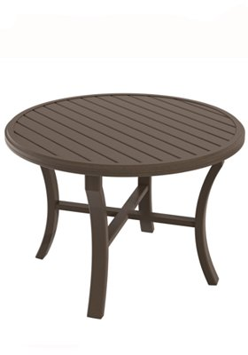 round dining table patio
