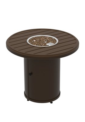 outdoor round fire pit manual ignition