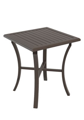 patio square bar table