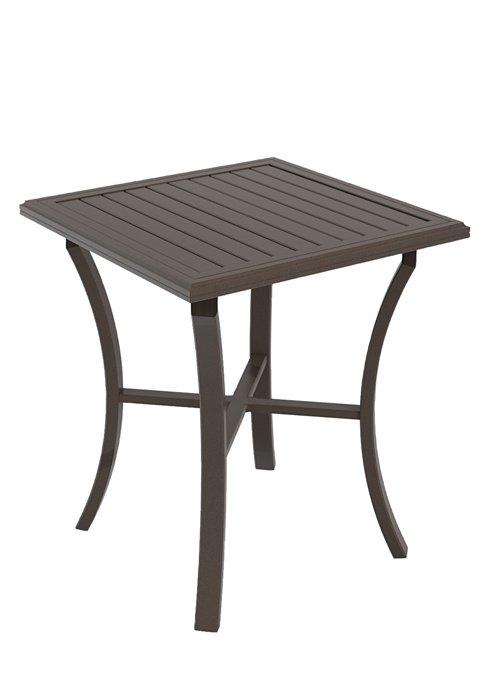 patio square bar table