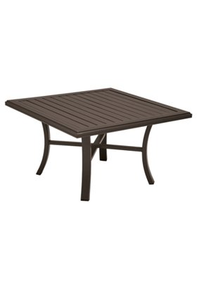 outdoor square chat table