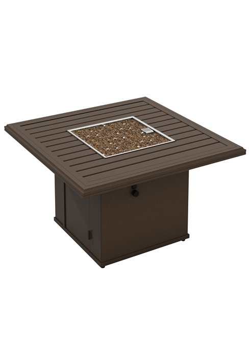 patio square fire pit manual ignition