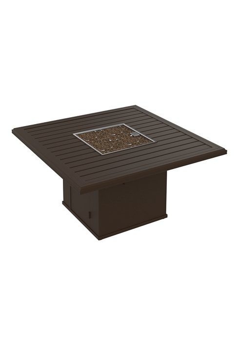patio fire pit square