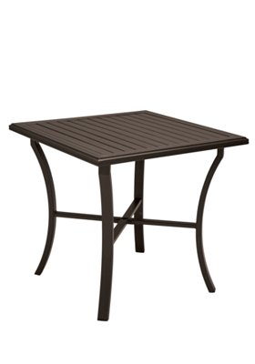 outdoor square bar table