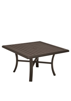 patio square chat umbrella table