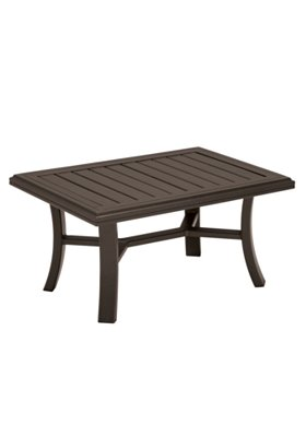 rectangular patio coffee table
