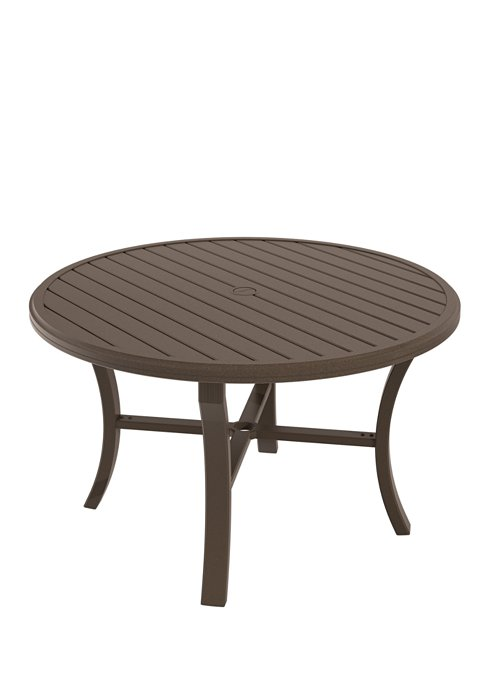 patio round dining umbrella table