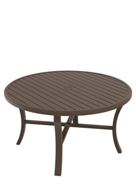 round dining umbrella table patio