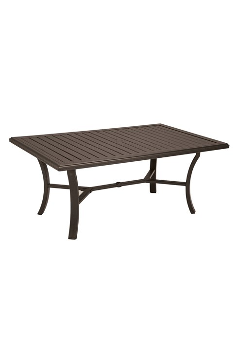 patio rectangular outdoor dining table