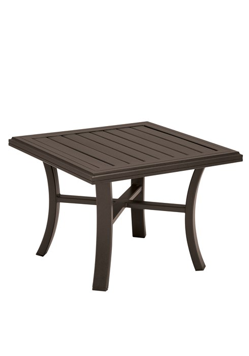 patio square end table