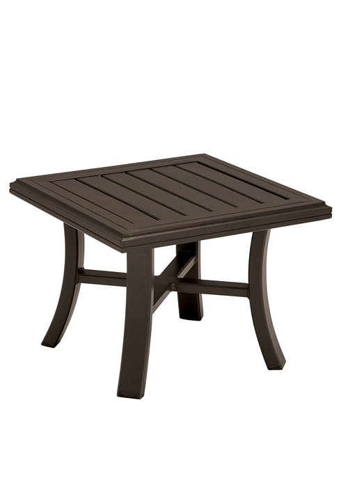 patio square tea table