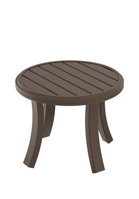 outdoor round tea table