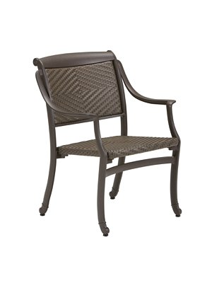 patio woven dining chair
