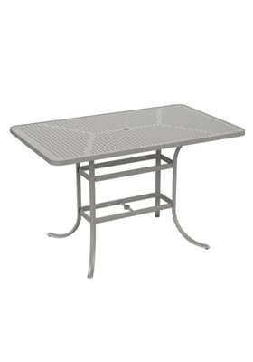 patio rectangular bar umbrella table