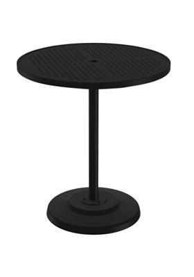 round patio pedestal bar umbrella table