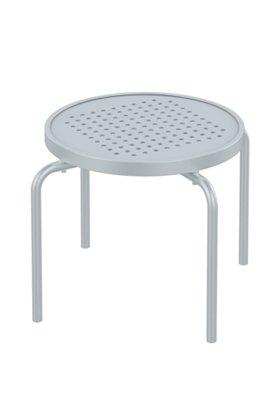 round patio stacking tea table